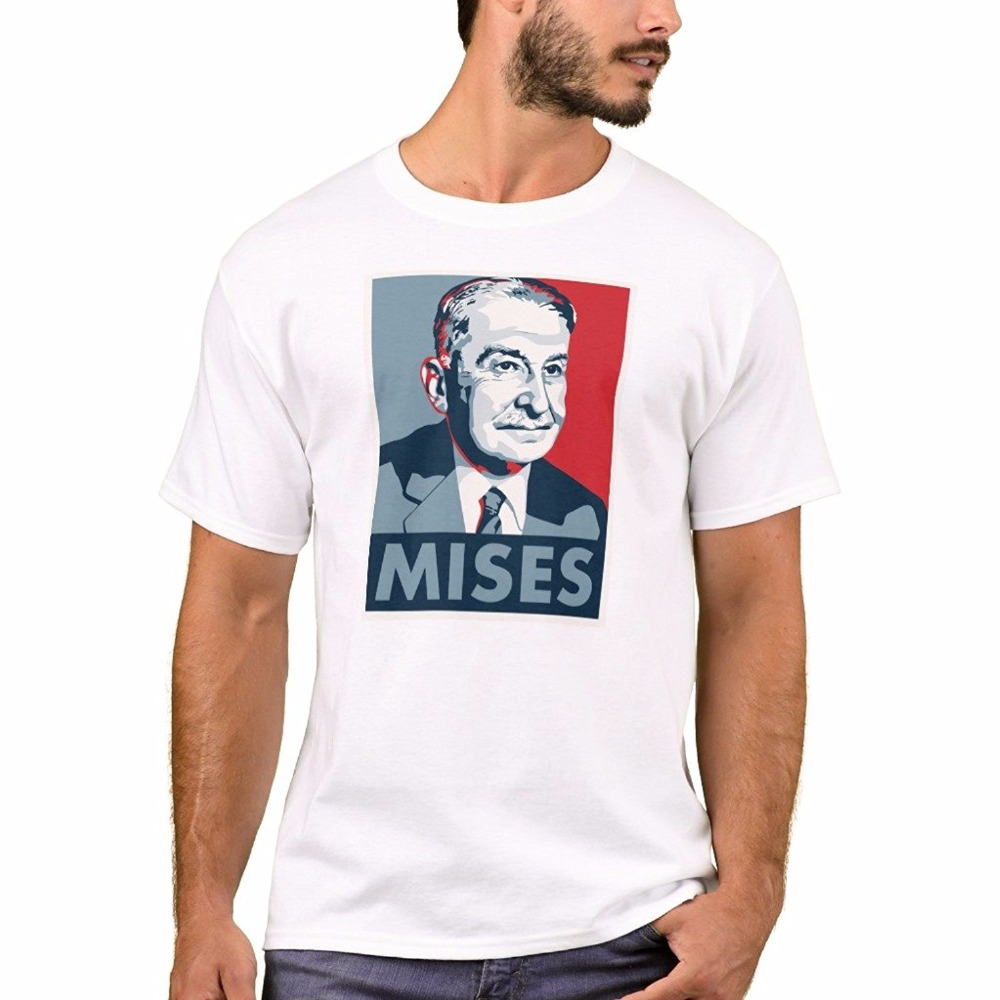 Cheap Custom T Shirt Printing Casual Mens Basic T-Shirt Ludwig Von Mises T-Shirt Crew Neck Short-Sleeve Mens Tee Shirts