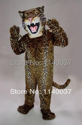 التميمة كوغار ليوبارد جاكوار التميمة زي النمر مخصص يتوهم حلي تأثيري mascotte موضوع fancydress كرنفال حلي