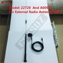 Черный радио хлыст антенна 22720 A00911 tnc-коннектор кабель для Trimble GPS 450-470 MHZ высокой частоты