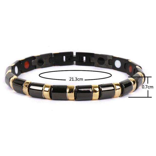 Health Bracelet Bangle Magnetic