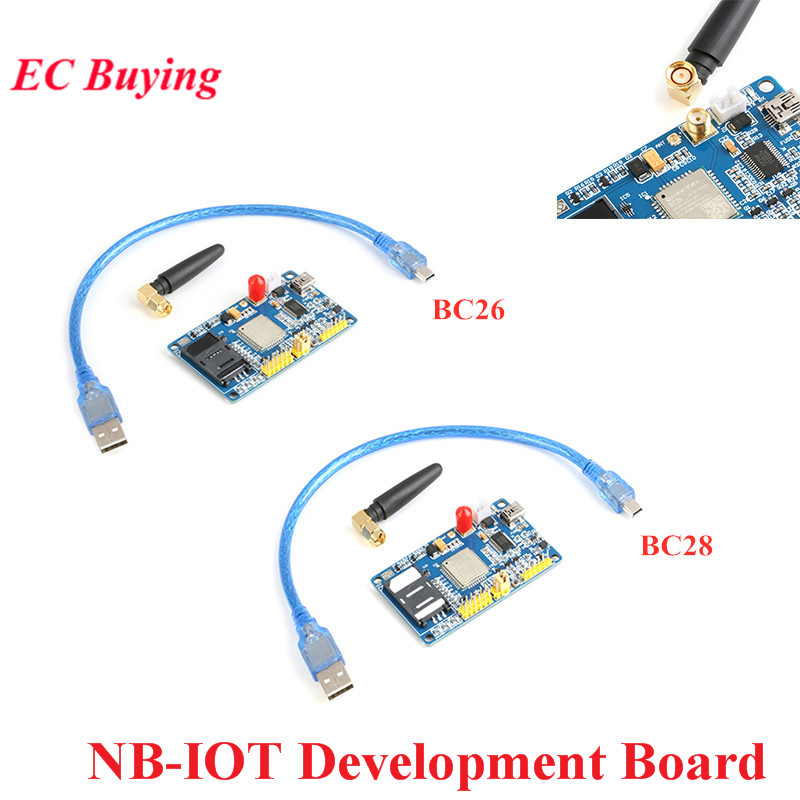 NB IOT BC26 BC28 IOT Development Board Compatible with M26 Module GSM/GPRS Communication TCP CoAP MQTT Global Frequency Band