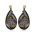 Love Deluxe Earrings-Online shopping Weekly special! Eye-catching The best quality Filigree geometric dangle earrings for women
