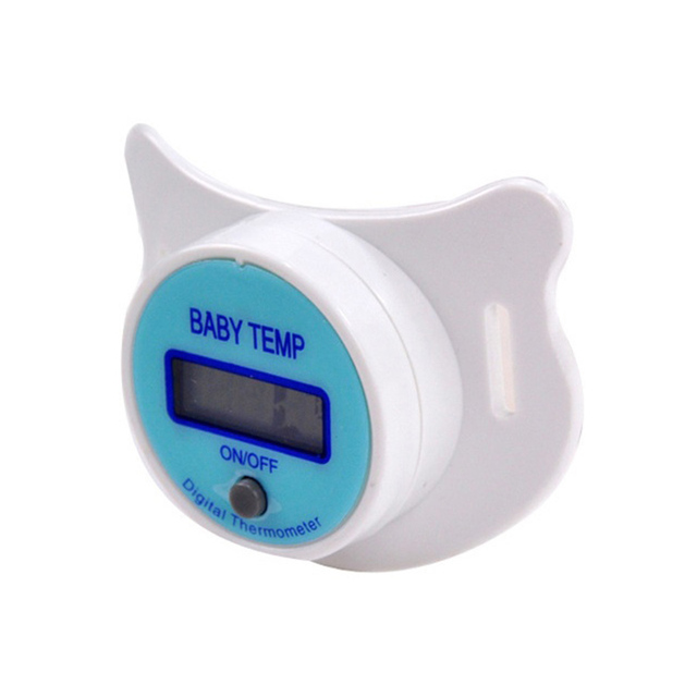 Soft Infant Baby Kid Nipple LCD Digital Mouth Pacifier Thermometer Children Health Safety Care 88 BM88 1