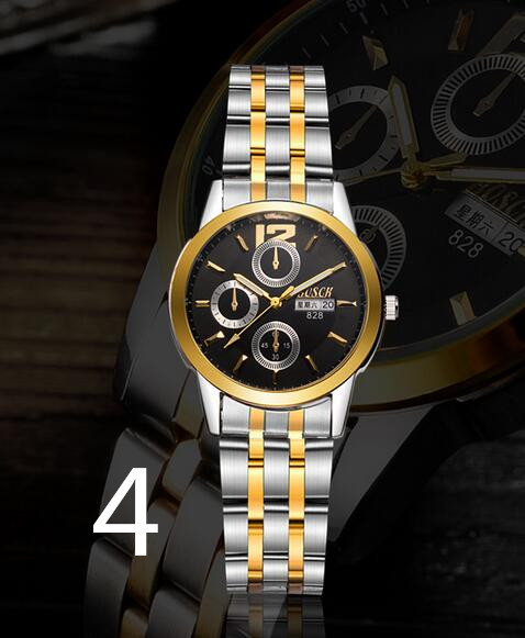 2019 explosion models full six-pin steel belt watch men watch business men and women away2019 explosion models full six-pin steel belt watch men watch business men and women away