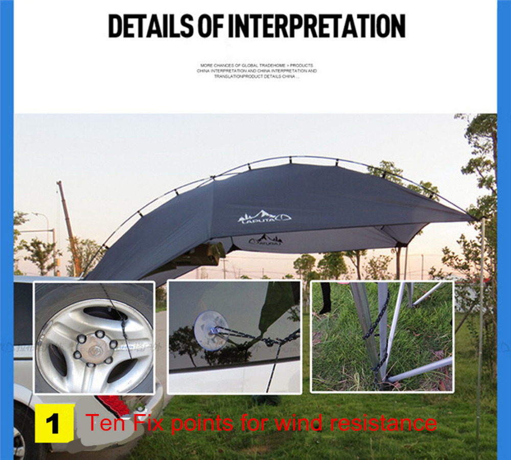 New Waterproof Outdoor Shelter Tent Car Gear Shade Canopy Tents Truck C&ing Tents Gazebo C&ing Equipment-in Sun Shelter from Sports u0026 Entertainment on ...  sc 1 st  AliExpress.com & New Waterproof Outdoor Shelter Tent Car Gear Shade Canopy Tents ...