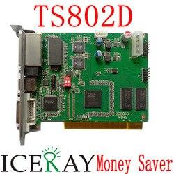 Oryginalny system sterowania Linsn 802 1 karta wysyłająca sd802D  kable usb