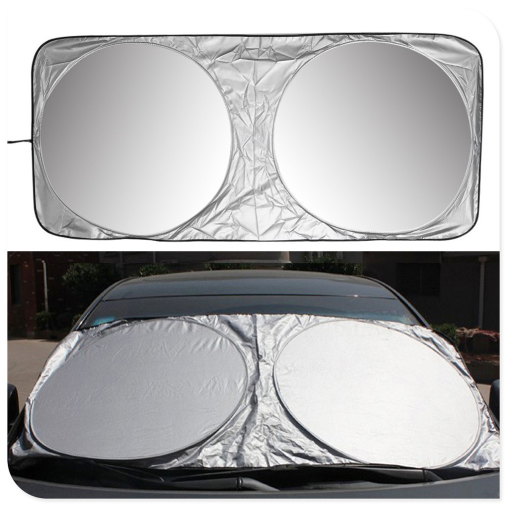 Car Sunshade Front Window Windshield Cover UV for <font><b>Mercedes</b></font> Benz Class A Class <font><b>B</b></font> CLA GLA Class C Class E CLS Class S SLC SL GLC image