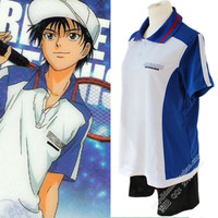 Ice Emperor Prince Of Tennis Cosplay Uniform Sportswear Summer School UniformShort Sleeve Summer Clothes Cosplay