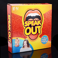 HOT! 1 Pcs Speak Out Game Best Selling Interesting Party Game for Halloween Christmas kids birthday gift