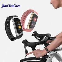 Smart Bracelet Heart Rate Blood Pressure Monitor Sleep Fitness Tracker Wristband Pedometer Sport Smart Band Sedentary reminder