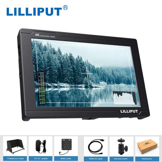 Lilliput FS7 Metal housing Full HD 7 Inch SDI Monitor With 4K HDMI Camera Assist
