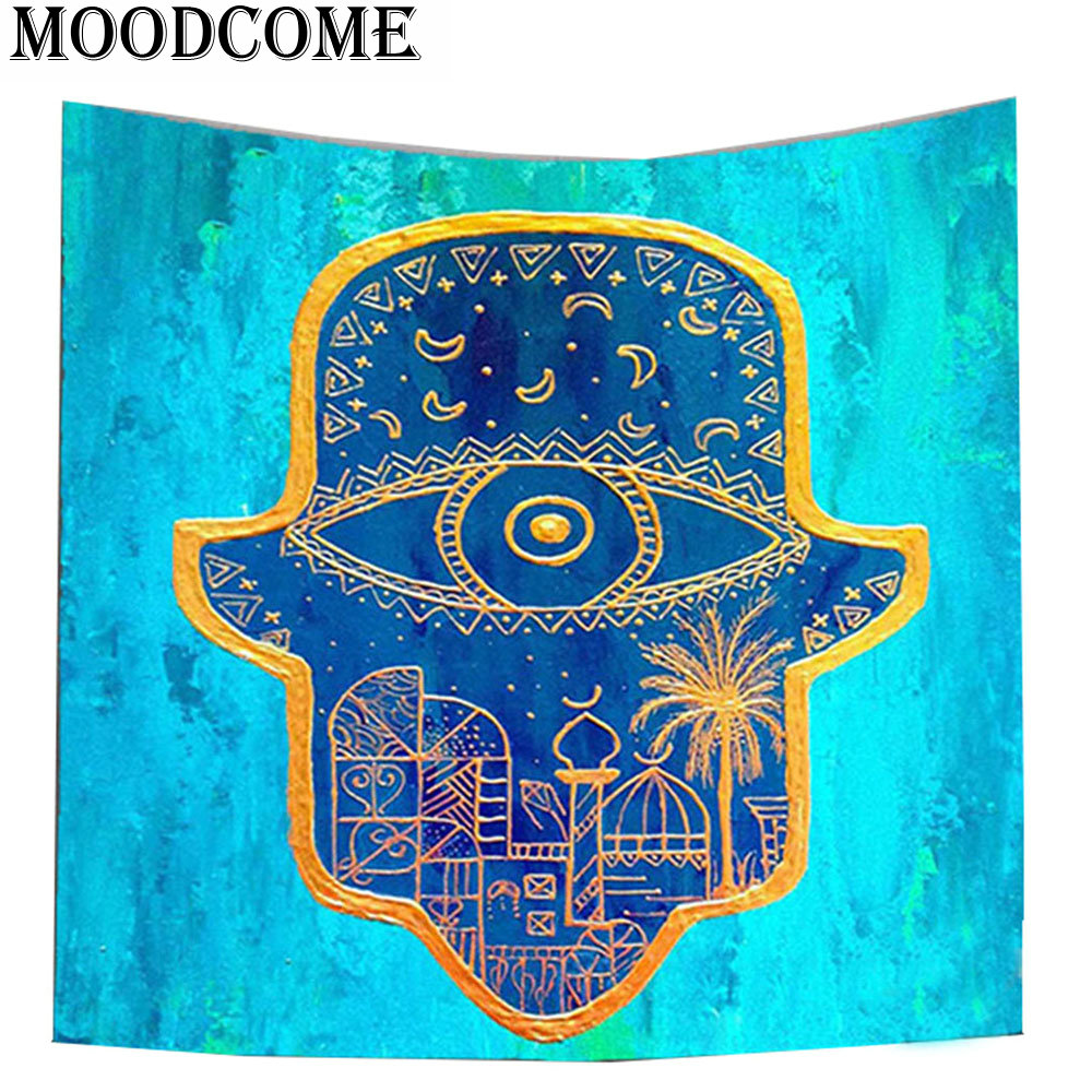Arab Wall Hanging Tapestry Polyester Wall Cloth Tapestries