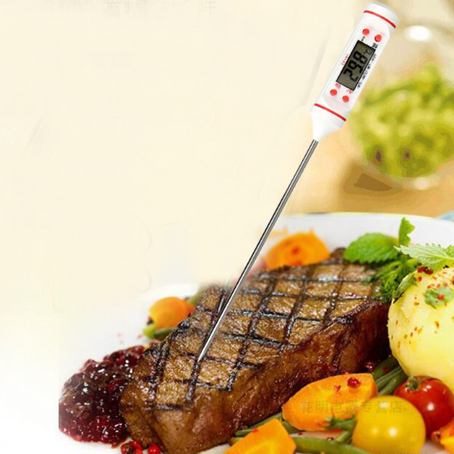 Pen Style Kitchen Digital Thermometer,Meat Cake Candy Fry Food BBQ Dinning Temperature Household Thermometers Cooking Termometro