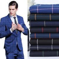 Men S Suits Stripe Fabrics High Quality Custom Formal Business Suits A Grain Of Buckle Leisure