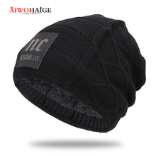 2019 winter new wholesale high quality knit hat cotton cap warm and comfortable outdoor unisex Baggy Thicken Hedging Cap beanie