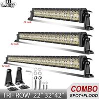 CO LIGHT 22 32 42 inch LED Work Light 12V 24V Spot Flood Combo Beam Led Car Driving Light Bar for Offroad 4x4 Truck Jeep ATV SUV