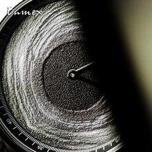 Enmex Individualization special design wristwatch 3D black hole creative stainless steel fashion quartz clock men  watch