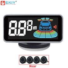 EKIY 4 Sensori Sensore di Parcheggio LED Digital Auto Radar di Retromarcia Auto Rivelatore Parcheggio Parktronic Assistenza di Sistema di Allarme