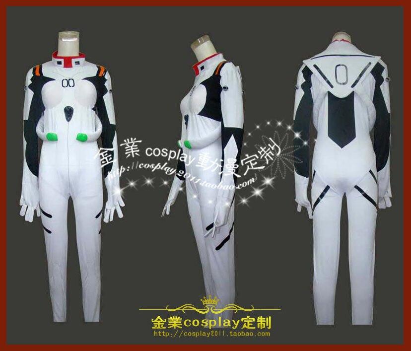 2016 eva Евангелион Косплэй сиамские плотный Rei Ayanami Костюмы для косплея костюм без Панцири-Любой Размер