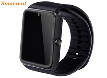 Smarcent smart gt08 pk a9 dz09 reloj de sincronización notificador tarjeta sim conectividad bluetooth para apple android teléfono inteligente reloj salud