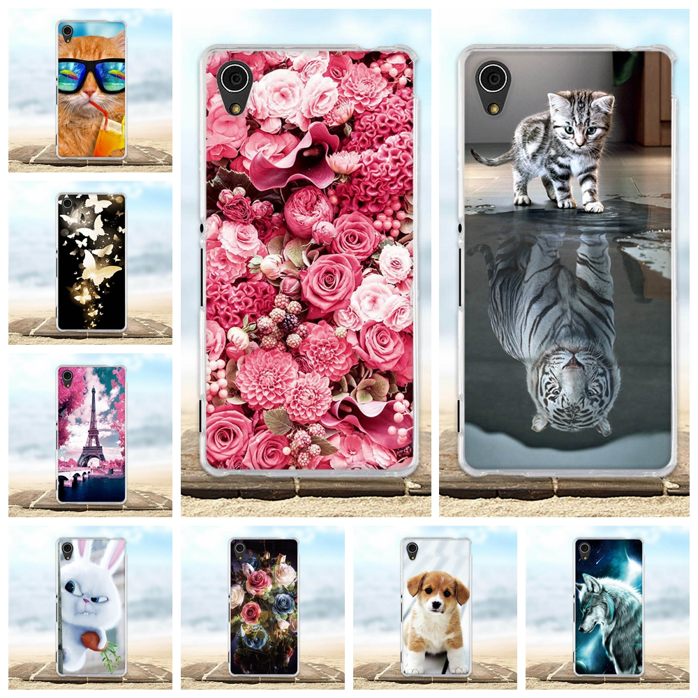 For Sony Xperia M4 Aqua E2303 E2312 E2333 E2353 Case 3D Cute Silicon Cover For Sony Xperia M4 Aqua / M4 Aqua Dual Phone Cases