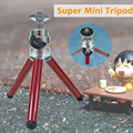 New Mini Fashion Tripod DSLR Portable Table Tripod Lightweight 100g Stand 13-27cm Travel Tripod with Mobile Phone Holder