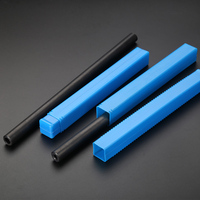 O/D 25mm Seamless Steel Pipe Structural Tube Explosion proof Steel Pipe Home DIY toolsprint black