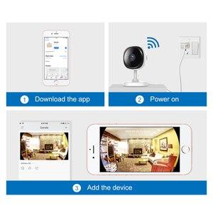 Image 5 - SANNCE HD 1080P Fisheye IP Camera Wireless Wifi Mini Network Camara Night Vision IR Cut Home Security Camara Wi Fi Baby Monitor