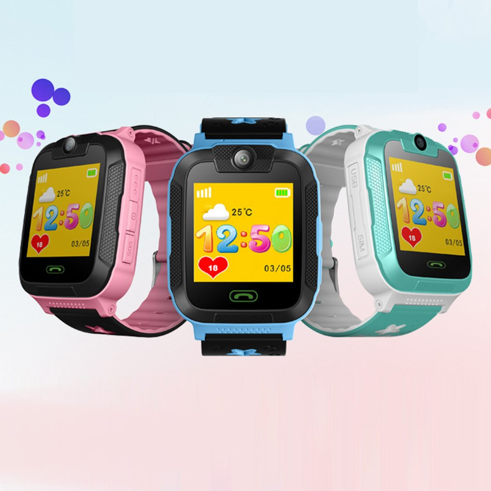 Smart Watch Kids Toy 1.4 Inch Children Walkie Talkies Touch Screen Baby Safe GPS Wrist Watch 3G Pedometer SIM Real Time Tracking