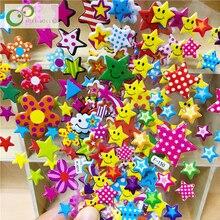 10 листов, объемные наклейки со звездами для мальчиков и девочек, Подарочные игрушки для детей, товары для учителя, Детские Игрушки для раннего обучения, GYH