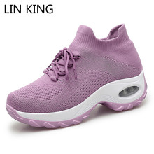 LIN KING Plus Size Women Casual Shoes Br