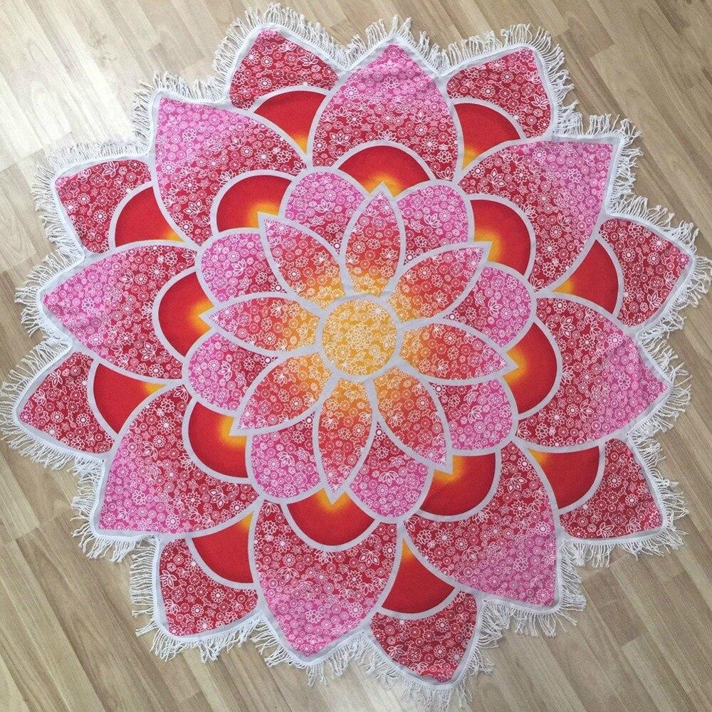 New Pareo Indian Mandalas Tapestry Totem Lotus Wall Կախովի - Սպորտային հագուստ և աքսեսուարներ - Լուսանկար 6