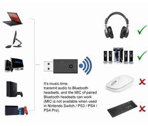 Image 2 - Reiyin usb bluetooth 5.0オーディオトランスミッタアダプタpc aptx低レイテンシサウンドカード