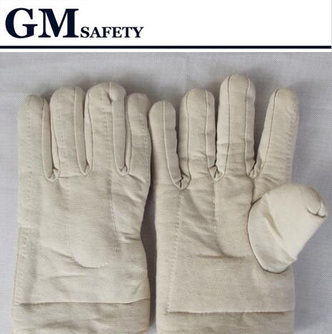 Thickening cotton gloves Heat resistant Gloves Heat insulation Safety gloves Microwave oven gloves G0408 цена