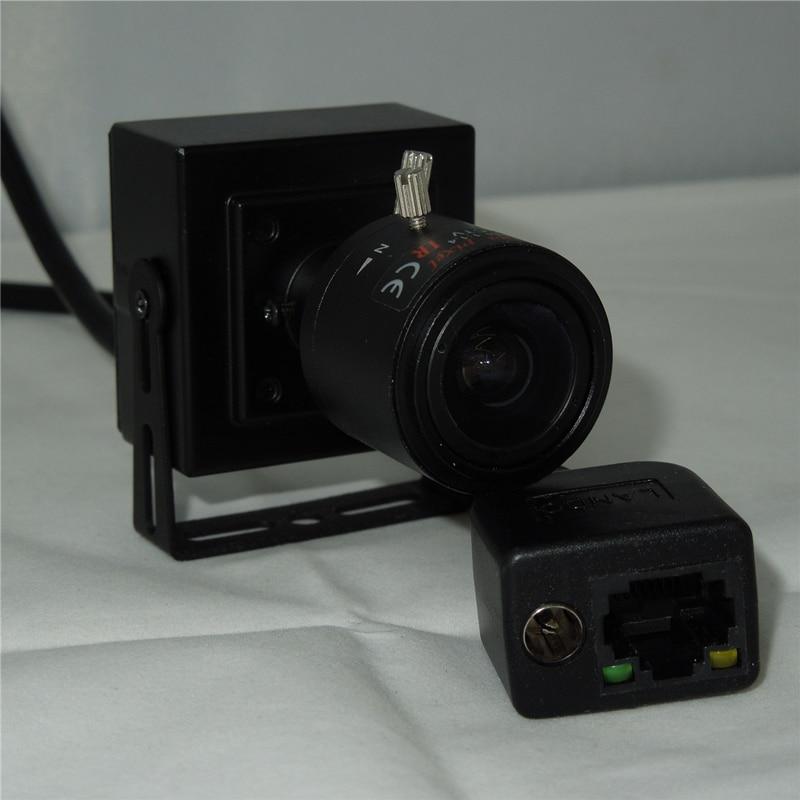 2.8-12 мм С Переменным Фокусным Зум-Объектив Цифровой Сети Ip-камера 960 P 1,3-МЕГАПИКСЕЛЬНАЯ мини Ip-камера Onvif P2P Подключи и Играй С кронштейн