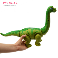 Electronic Lay Eggs Dinosaur Toy Walking Brachiosaurus Electronic Pet Cool Dinosaur Model Toy Boy Birthday Gifts