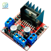 Dual H Bridge DC Stepper Motor Drive Controller Board Module L298N for Arduino цена