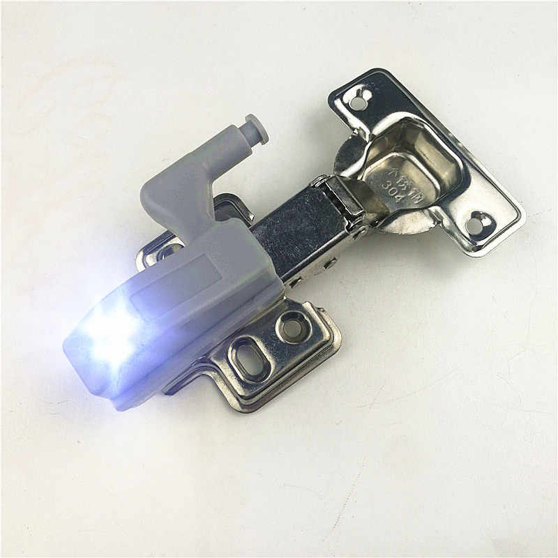 Universal 0.25W Kitchen Cabinet Cupboard Closet Wardrobe Inner furniture Hinges LED Light System