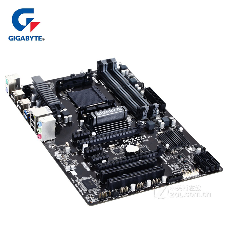 Gigabyt GA-970A-DS3P Original Motherboard DDR3 DIMM USB3.0 Gigabyt 970 970A-DS3P Desktop Mainboard SATA III AM3 AM3+ Boards Used