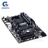 Gigabyt GA 970A DS3P Original Motherboard DDR3 DIMM USB3.0 Gigabyt 970 970A DS3P Desktop Mainboard SATA III AM3 AM3+ Boards Used