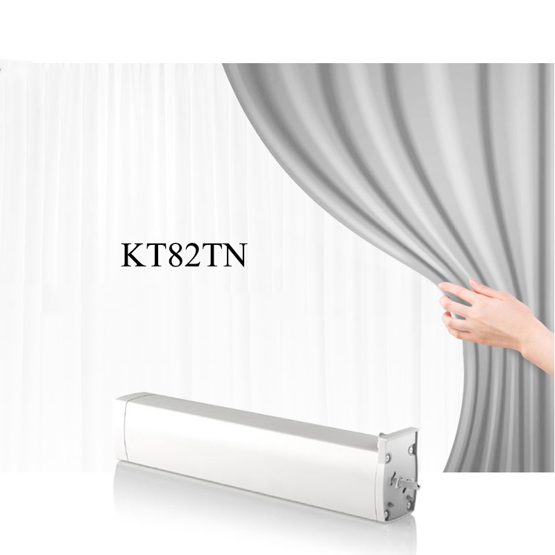 Dooya KT82TN Electric Curtain Motor Intelligent Remote Control Motorized Curtain Motor DC110V-240v with remote dc2700 dooya high quality electric super quiet curtain track auto motorized curtaintrack for remote control electric curtain motor
