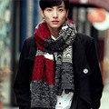 180*30 de Los Hombres 2016 nuevo Otoño e invierno moda bufandas hombres y mujeres caliente bufandas de lana bufanda de cachemira 1 pc/lot al por menor