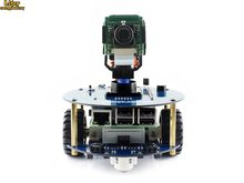 AlphaBot2 robot building kit: 2018 new original Raspberry Pi 3 Model B+,RPi Camera (B)+Micro SD Card card+15 Acc(China)