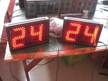Duży LED cyfrowy licznik czerwony kolor pilot zdalnego sterowania 99 led licznik darmowa wysyłka tanie tanio DIGITAL Zegary ścienne HIT2-5R Luminova Metal NoEnName_Null