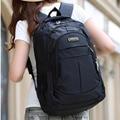 2016 Fashion Unisex Black Laptop Backpack Men School Bags For Teenage Girls Boys Large Capacity Nylon Bagpack Bag Mochila XA68