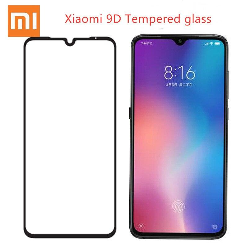 Xiaomi Tempered-Glass Screen-Protector Note-7 8-Lite Redmi Full-Cover-Film For 8-lite/A2/A1/..