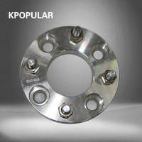 2 pcs  wheel spacers spacers for wheels4x114.3 25mm Flange Spacers auto accessories Aluminum Flange wheel widening gasket