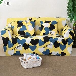 Image 1 - 1/2/3/4 ที่นั่งยืดโฟร์ซีซั่นโซฟาพิมพ์โซฟา Spandex โมเดิร์นยืดหยุ่นโพลีเอสเตอร์โซฟา