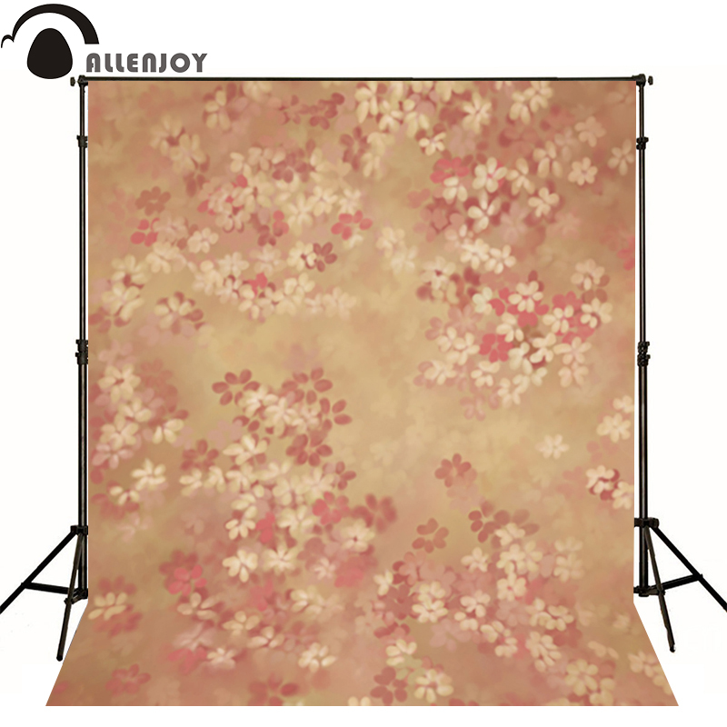 Allenjoy photography backdrops Flowers bokeh beautiful hazy photo background newborn baby photocall romantic photo studio