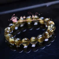Natural fashion accessories natural crystal titanium crystal bracelet rutilated bracelets jewelry lovers